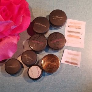 Bare minerals set of eye shadows
